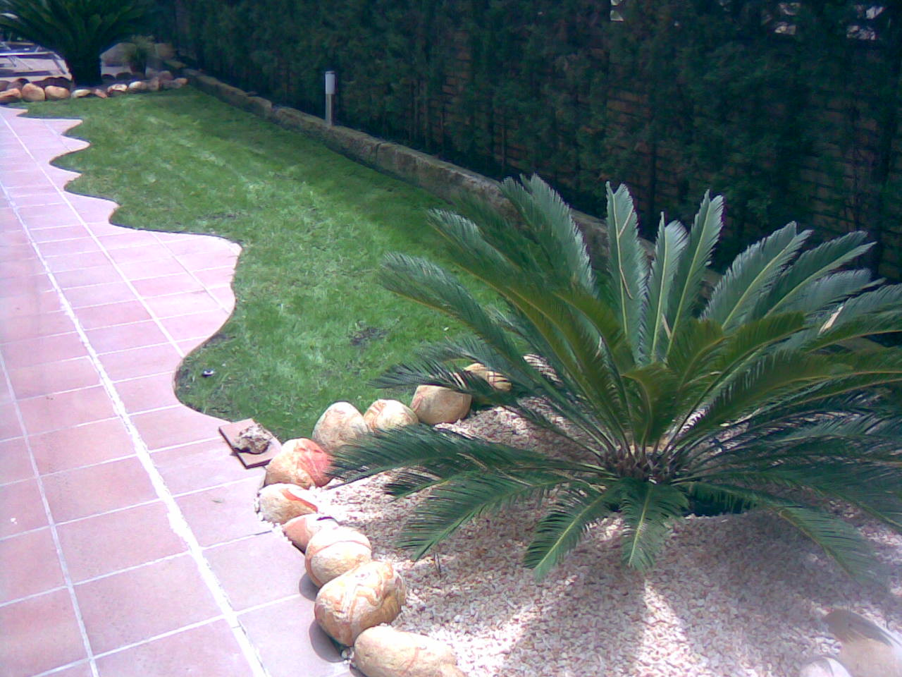 Diseño de jardín en Castelldefels 2