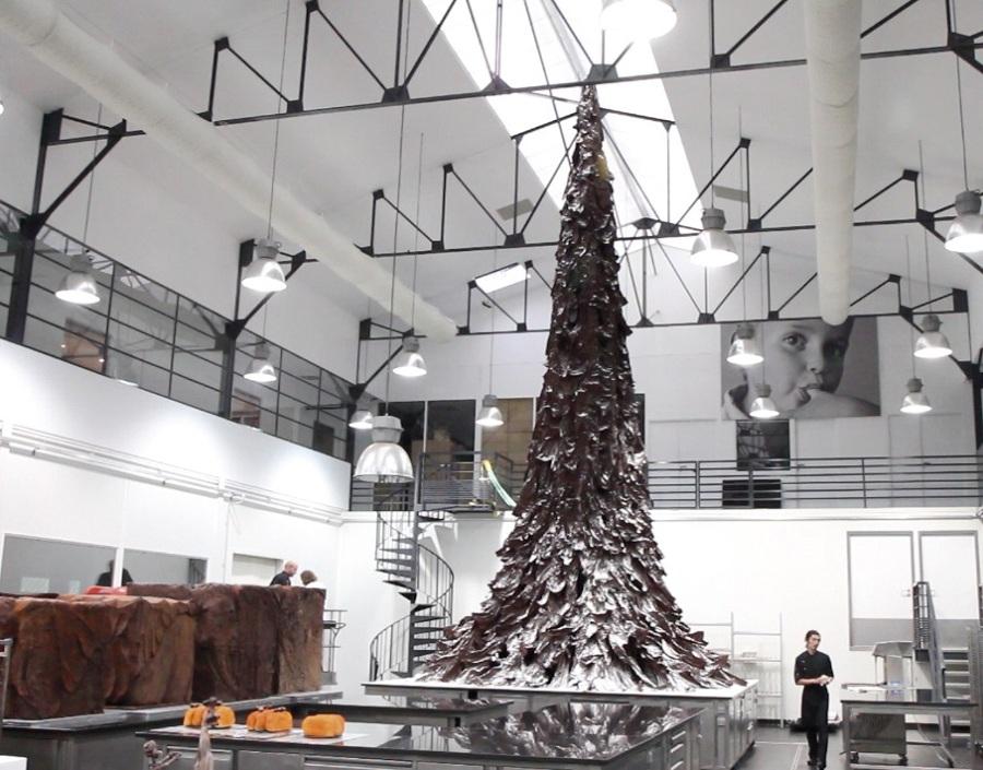 Arbol de Navidad de chocolate