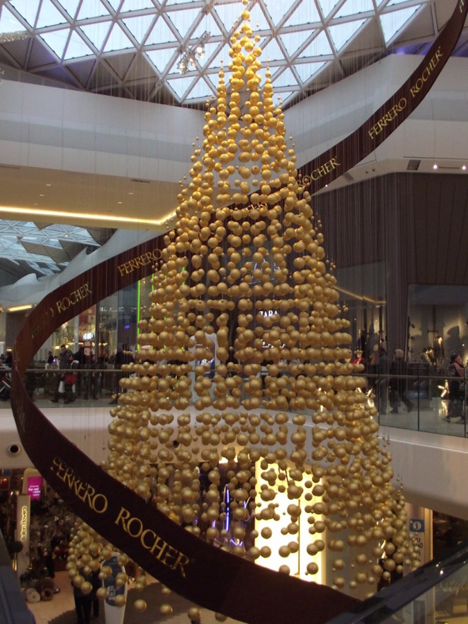 Arbol de Navidad Ferrero Rocher