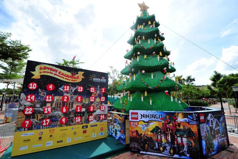 Arbol Navidad Lego Malasia