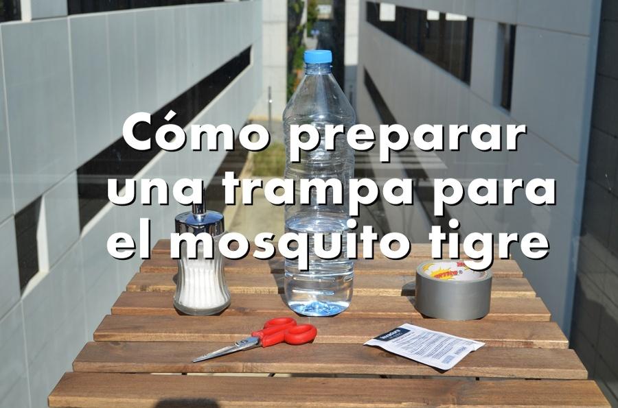 Como preparar una trampa para el mosquito tigre