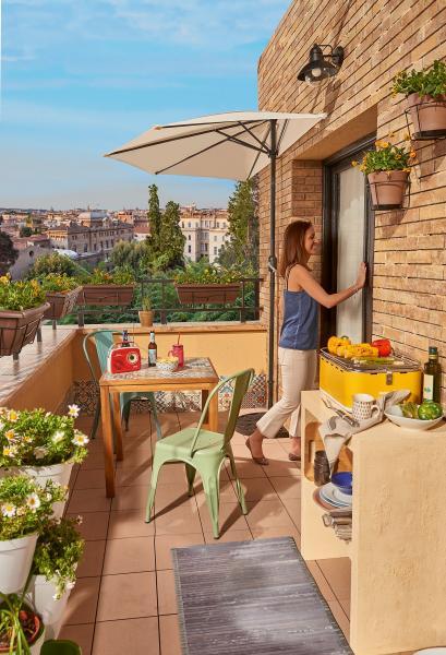 Balcon decorado tu rincón de relax